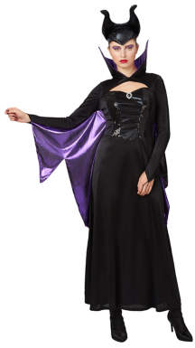 Disney Adult Villains Maleficent Fancy Dress Costume