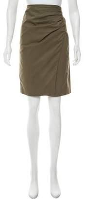 Etro Woven Knee-Length Skirt