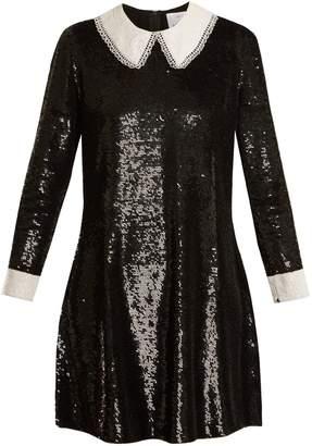Ashish Wednesday sequin-embellished silk dress