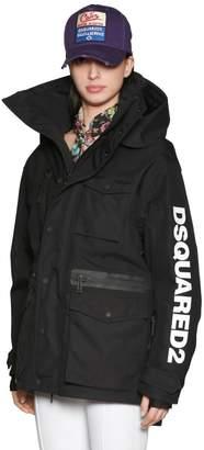 DSQUARED2 Hooded Nylon Ski Jacket