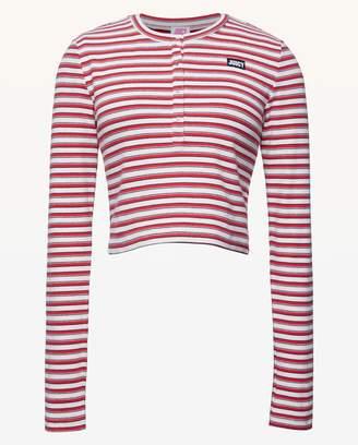Juicy Couture JXJC Juicy Striped Rib Top
