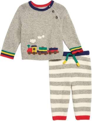 Boden Mini Knit Sweater & Leggings Set