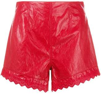 Philosophy di Lorenzo Serafini scalloped hem shorts