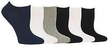 Hot Sox Low-Cut Socks 6-Pack