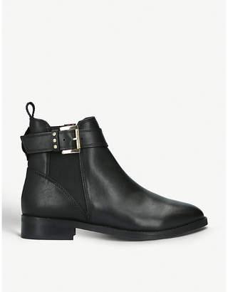 Kurt Geiger London Rusty buckle-detail leather chelsea boots