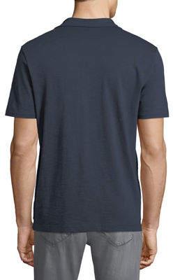 Michael Bastian Men's slub-Knit Polo Shirt