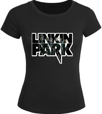 Linkin Park Tops T shirts Linkin Park For 2016 Womens Printed Short Sleeve tops t shirts