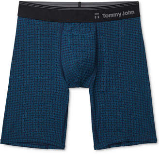 Tommy John Men's Second Skin Hawthorne Printed Boxer Briefs