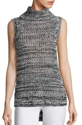 Derek Lam 10 Crosby Sleeveless Turtleneck Top