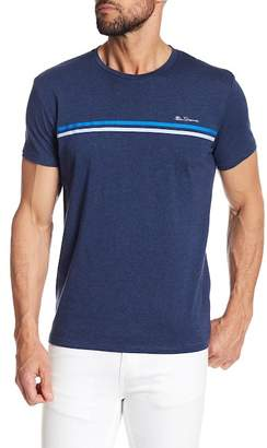 Ben Sherman Sport Stripe Short Sleeve Tee
