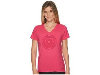 Life is Good Make More Love Crusher Vee Women's T Shirt