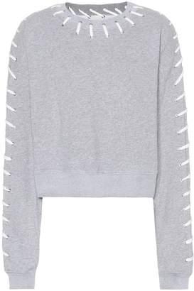 Jonathan Simkhai Whipstitch cotton sweatshirt
