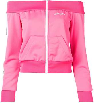 Palm Angels bardot track jacket