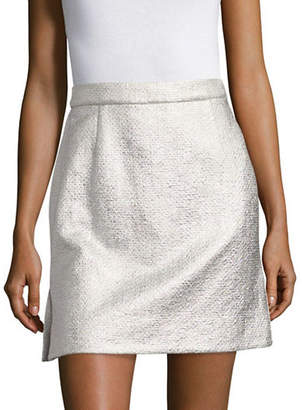 Carven Textured Mini Skirt