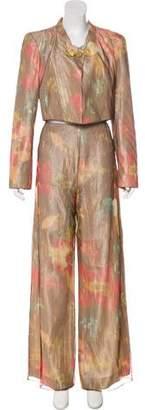 Christian Lacroix Printed Wide-Leg Pantsuit