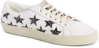 Saint Laurent Court Classics Stars Sneaker