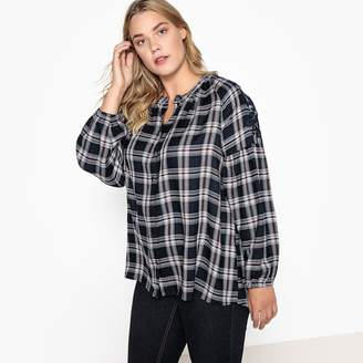 CASTALUNA Long-Sleeved Checked Shirt