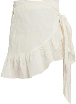 Etoile Isabel Marant Dempster ruffled mini skirt