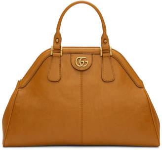 Gucci Tan Small Linea Top Handle Bag