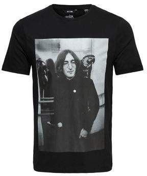 ONLY & SONS Beatles Printed Cotton Tee