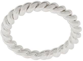 Isabel Lennse thin twisted ring