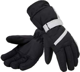 Simplicity Men's 3M Thinsulate Lined Waterproof Snowboard / Ski Gloves,M