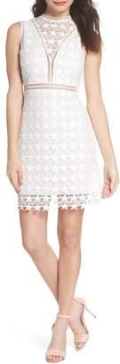 Sam Edelman Star Lace Sheath Dress