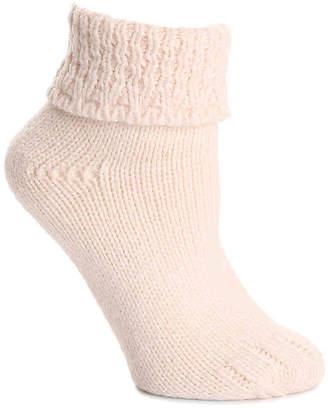 Lemon Cable Knit Boot Socks - Women's