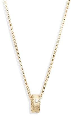 Roberto Coin Diamond Princess Pendant Necklace