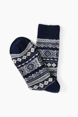 Barbour Onso Fairisle Socks