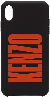 Kenzo logo print iPhone XS case