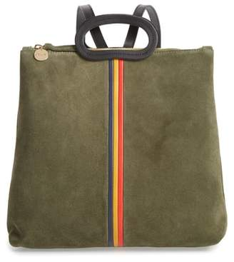 Clare Vivier Marcelle Suede Backpack