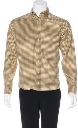 Burberry Woven Check Shirt