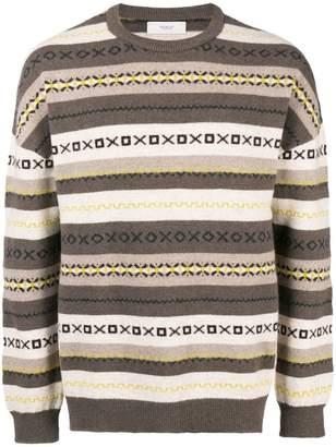 Pringle paneled jumper