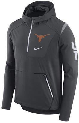 Nike Men's Texas Longhorns Alpha Fly Rush Quarter-Zip Hoodie