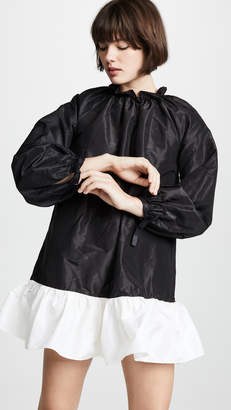 Cynthia Rowley Bell Sleeve Flounce Dress