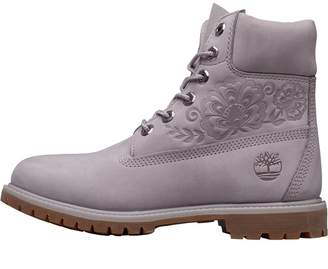 cae9d78bfd20 Timberland Womens 6 Inch Premium Boots Gull Grey