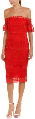 Saylor Lace Sheath Dress