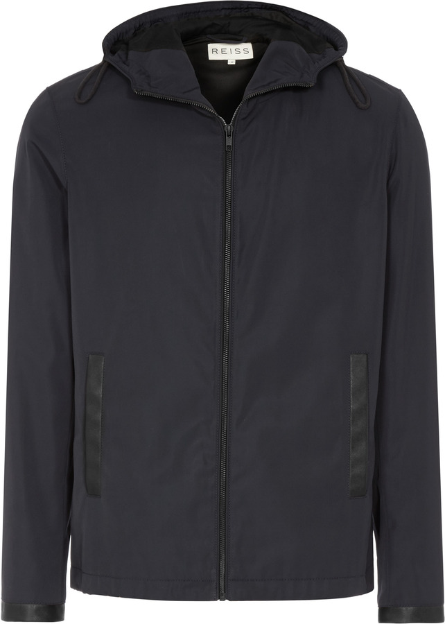 Reiss Zidane LIGHTWEIGHT JACKET WITH CONTRAST TRIM
