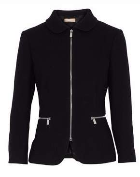 Michael Kors Wool-Blend Crepe Jacket