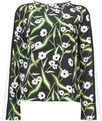 Equipment floral print blouse