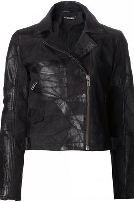 Religion Leather Jacket