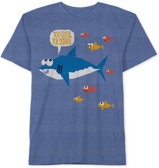 JEM Toddler Boys Shark Graphic-Print T-Shirt