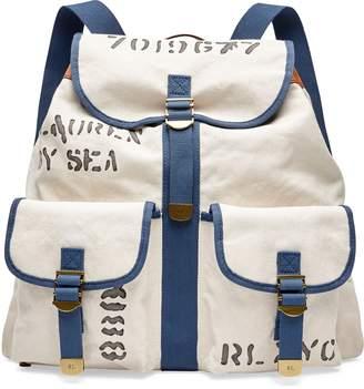 Ralph Lauren Canvas Drawstring Backpack