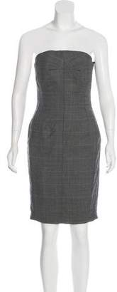 Paul Smith Virgin Wool Strapless Dress