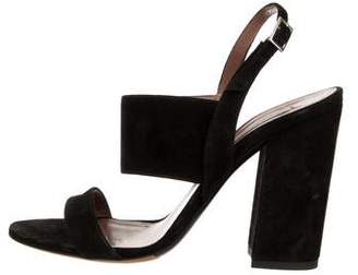 Tabitha Simmons Senna Suede Ankle Strap Sandals