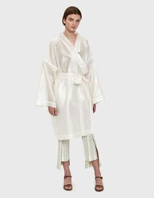 Mazarine Tokyo Kimono in White Lurex