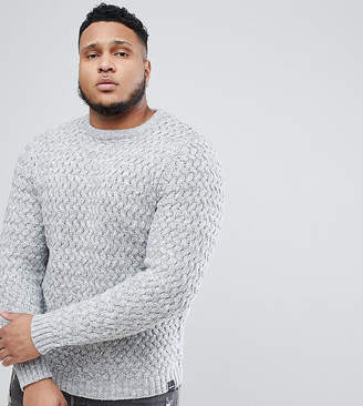 ONLY & SONS Knitted Sweater With Textured Weave