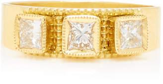 Amrapali 18K Gold and Diamond Ring