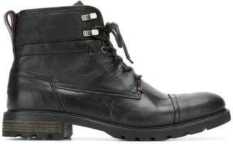8cec79890e0aa5 Tommy Hilfiger lace up ankle boots